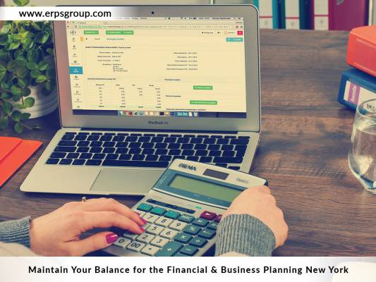 Maintain Your Balance for the Financial & Business Planning NYC
