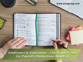 Employers & Employees - Check the Forms for Payroll's Deductions NYC